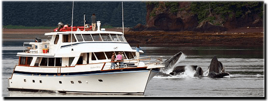 Alaskan Yacht Charters yacht The Alaskan Story will be the Yacht that takes you on your dream cruise.