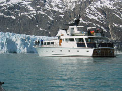 The Alaskan Song is a 96-foot diesel-powered yacht owned and chartered by Geoff Wilson and his wife Debbie