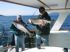 Fishing aboard the Alaskan Song