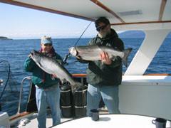 Fishing aboard the Alaskan Song