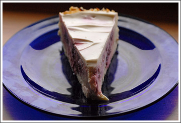 Chef Debbie Bennett Creamy Raspberry Cheese Cake