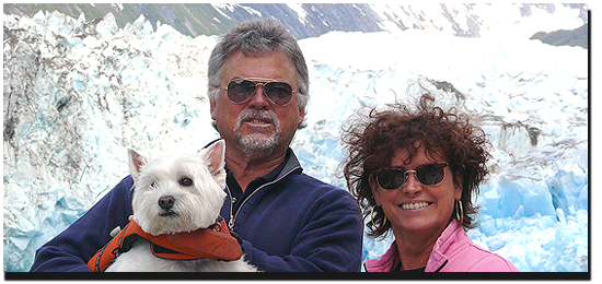 Debbie and Geoff Wilson will take you on a scenic Alaska Charter Cruise aboard The Alaskan Story.