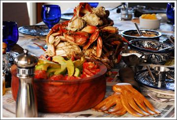 Chef Debbie Bennett Dungeness Crab