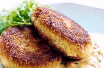Chef Debbie Bennett Dungeness Crab Cakes