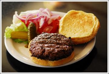 Chef Debbie Bennett Hamburgers