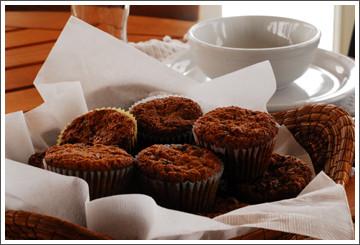 Chef Debbie Bennett Wheat Germ Muffins
